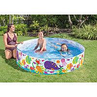 Детский бассейн с жёсткой стенкой 183х38 см Intex 56452
