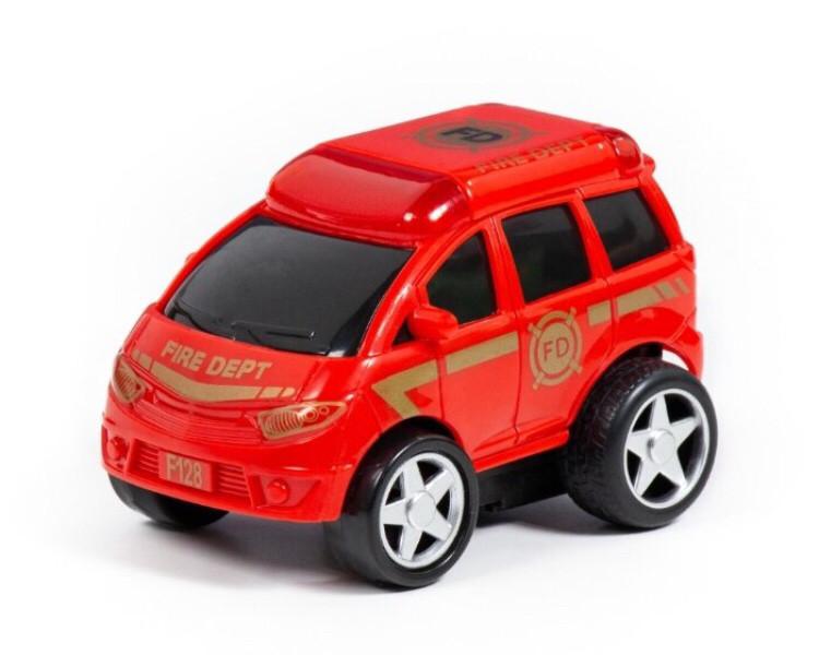 Пожарный автомобиль Полесье Крутой Вираж (78988) 10.2 см