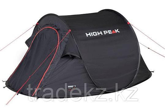 Палатка быстроразборная HIGH PEAK VISION 2, цвет черный, фото 2