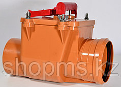 Клапан обратный канализационный ф110 Пластфитинг СУ-23051