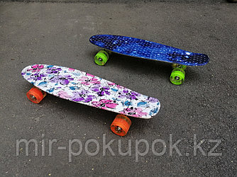 Детский скейт (пенни борд) с рисунком
