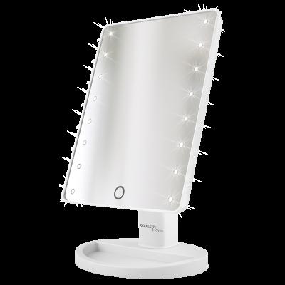 Зеркало косметическое Scarlett SC-MM308L01 белый