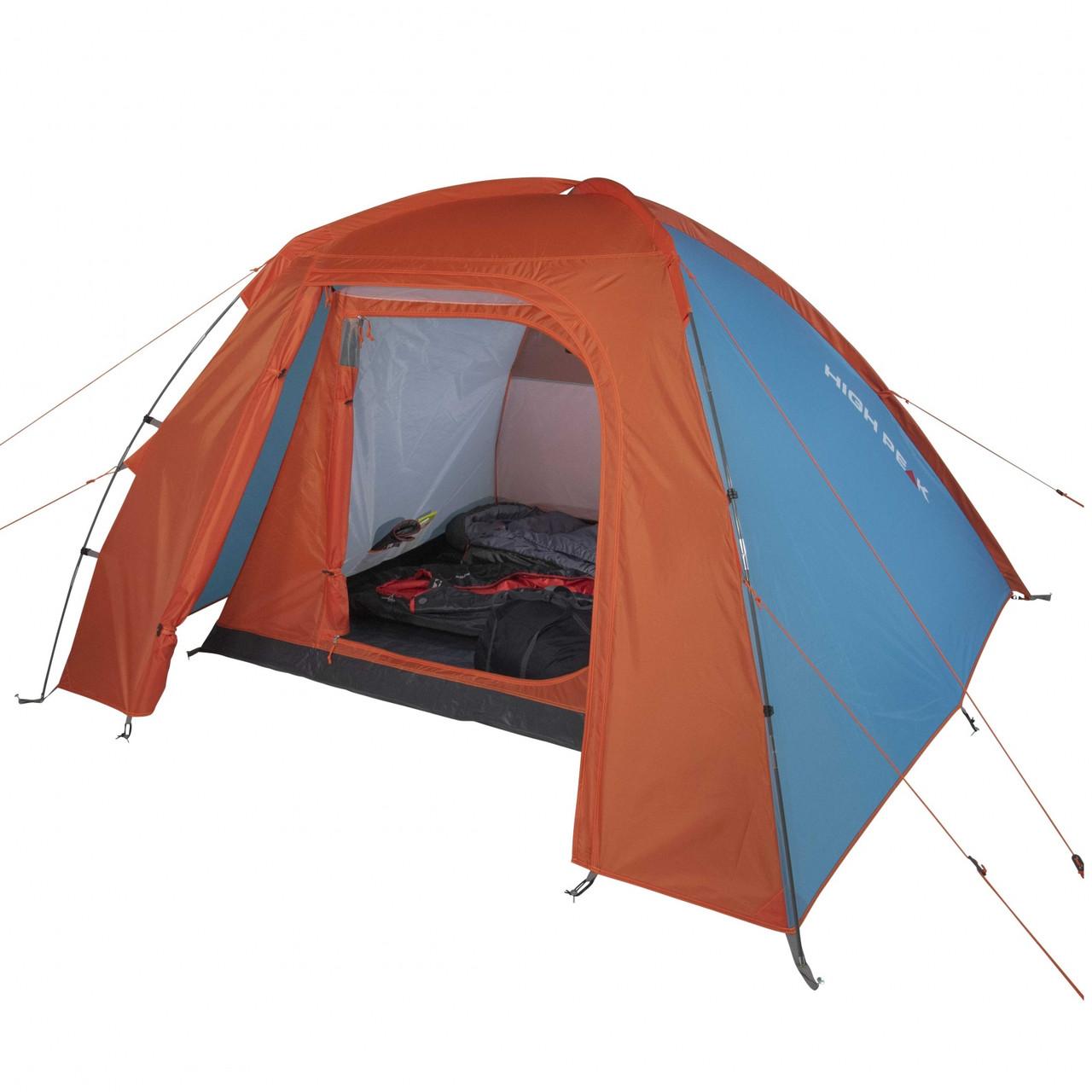 Палатка High Peak Rapido 3 (Blue/Orange) R89039