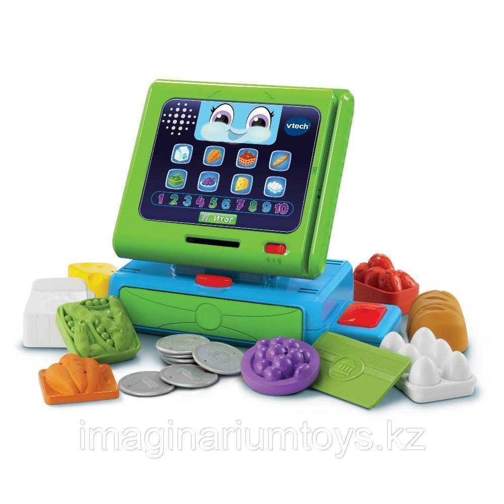Касса интерактивная развивающая игрушка для детей Vtech