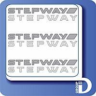 Stepway наклейка, фото 1