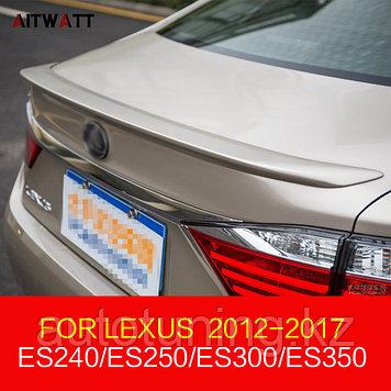 Спойлер на крышку багажника Lexus ES250/300H/350 2012-2018 г.