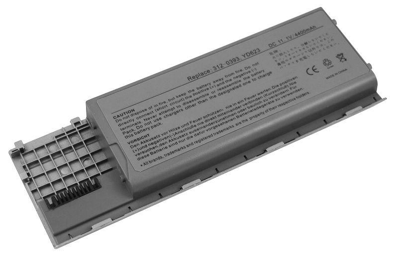 Аккумулятор для ноутбука Dell Latitude D630 JD634 (11.1V 4400 mAh)