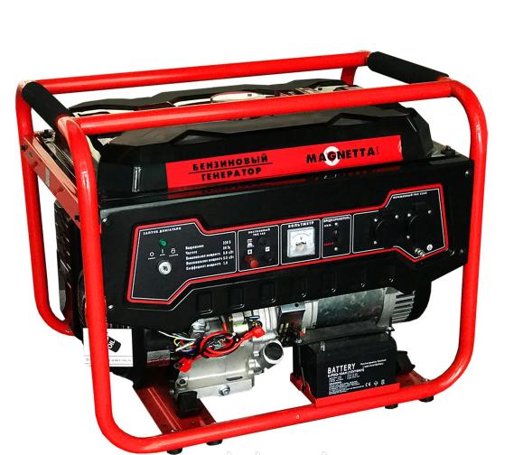 Генератор бензиновый  Magnetta GFE6500N(5,5кВт)