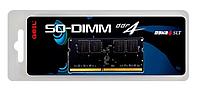 Оперативная память для ноутбука 8Gb DDR4 2400MHz GEIL PC4-19200 SO-DIMM 17-17-17-39 GS48GB2400C17SC