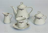 Сервиз чайный 12 персон 27 предм Kamelia 0611 (Exclusive Bohemia, Чехия), фото 1