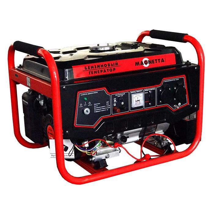Генератор бензиновый Magnetta GFE4500 (4.0кВт)