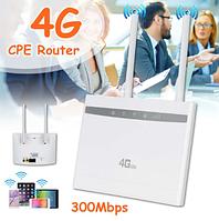 4G WIFI LAN умный роутер с поддержкой 4G сим карт и тремя Ethernet портами, HUAWEI CP101