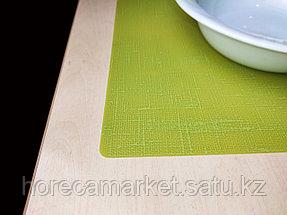 Подтарельники силиконовые цвет Киви 30X45см, 30шт, фото 3