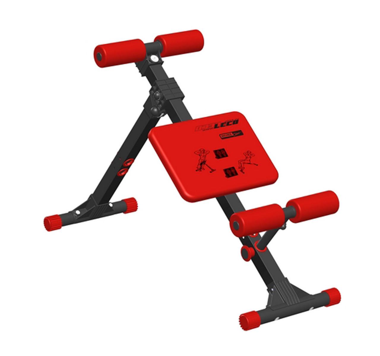 Скамья для пресса и мышц спины 120 кг Россия