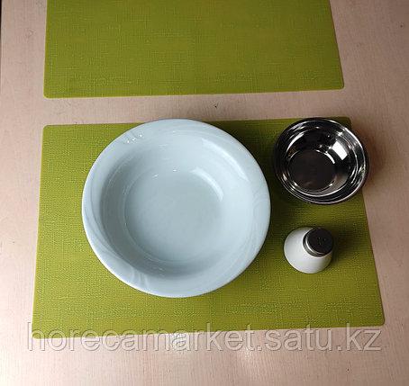 Подтарельники силиконовые цвет Киви 30X45см, 30шт, фото 2