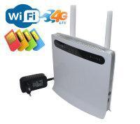 4G Wi-Fi роутер с поддержкой 4G сим карты и четырьмя Ethernet портами, IDB593