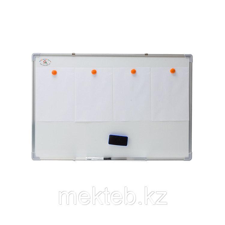 Доска-экран для магнитных пособий габ.1000х1000