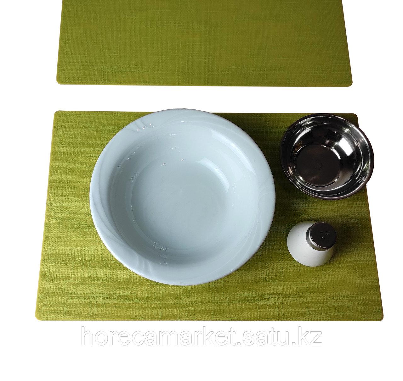 Подтарельники силиконовые цвет Киви 30X45см, 30шт