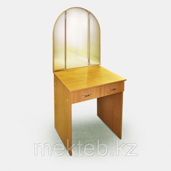 Стол гримировальный с зеркалом габ.1200х600х700