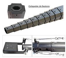 PROAIM/10 метроый кран с телескопической стрелой , фото 3