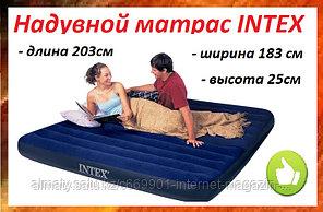 Надувной матрас 203*183*25см  INTEX 64755