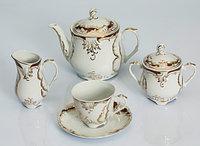 Сервиз чайный 12 персон 27 предм Rococo (Exclusive Bohemia, Чехия)