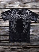 «Чёрный легион» мужская четырёхсторонняя тотальная футболка, фото 3