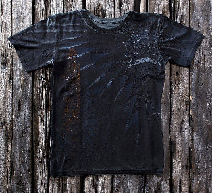 «Империя серая» тотальная футболка мужская