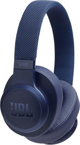 Наушники беспроводные JBL Live 500BT, голубые JBLLIVE500BTBLU