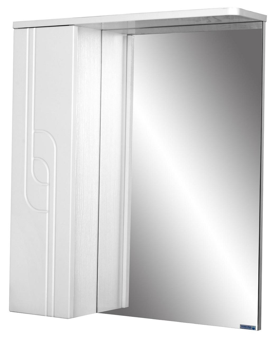 Шкаф-зеркало Лилия 50 левый  АЙСБЕРГ
