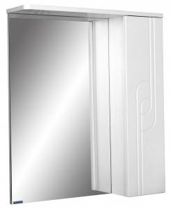 Шкаф-зеркало Лилия 55 правый АЙСБЕР