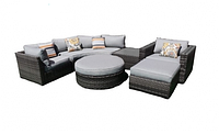 Комплект мебели угловой из ротанга
