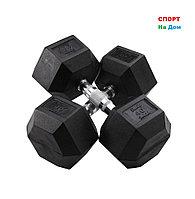 Гантели гексагональные 40+40 кг