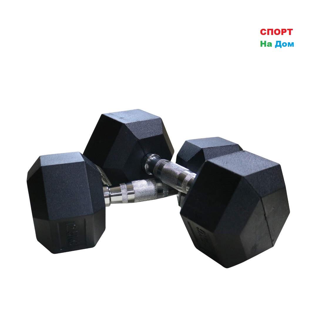 Гантели гексагональные 22,5+22,5 кг