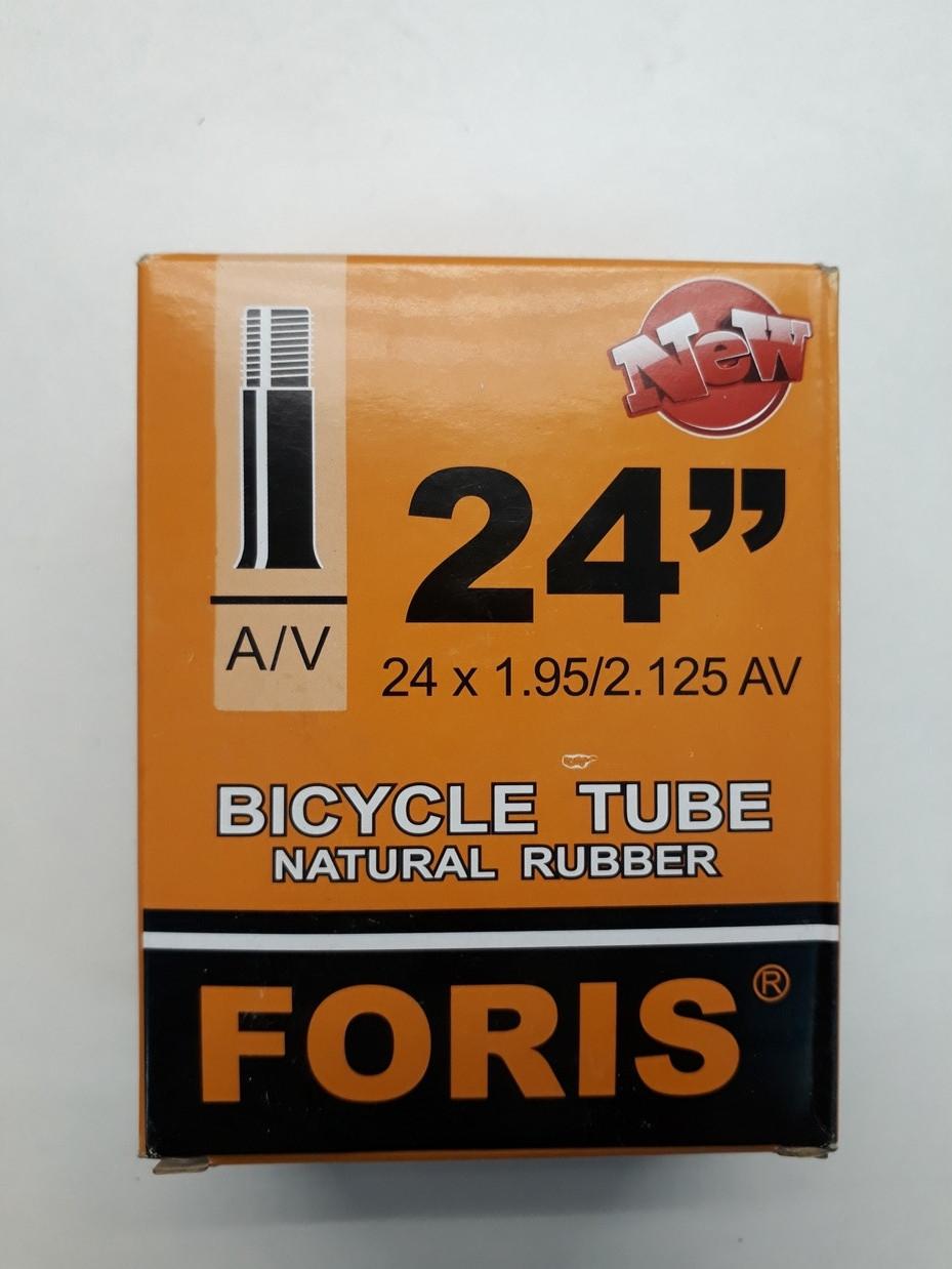 Велосипедная камера Foris 24*2,125 A/V