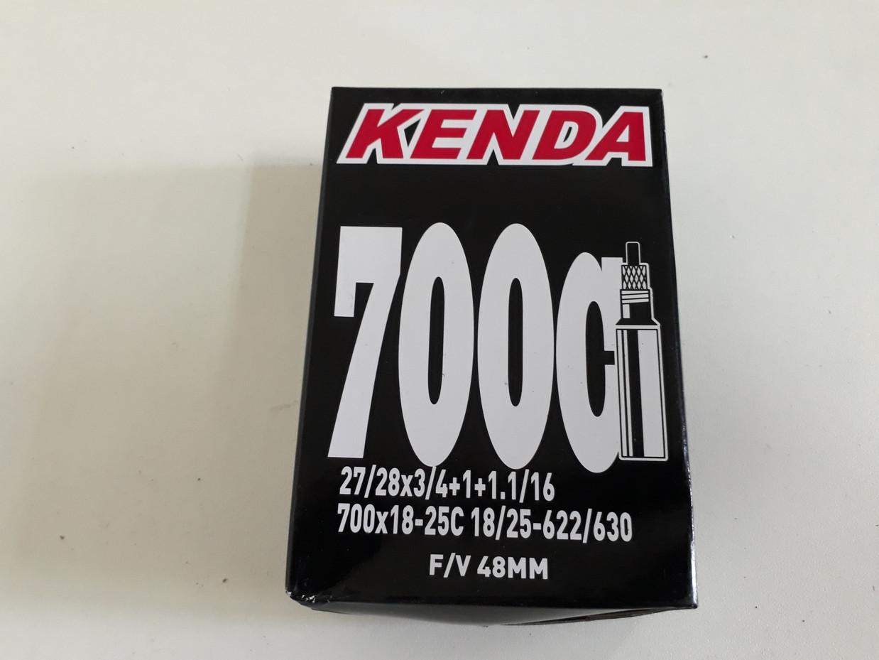 Велосипедная камера Kenda 700x18/25C f/v 48 (28x3/4)
