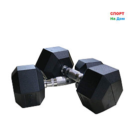 Гантели гексагональные 42,5+42,5 кг