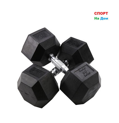 Гантели гексагональные 50+50 кг, фото 2