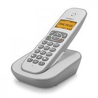 Телефон teXet TX-D4505A Бело-Серый
