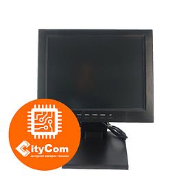 POS-монитор черный 12 дюймов TVS LT-12R65, VGA, 800x600, жесткое крепление к рабочему месту Арт.5687