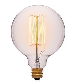 052-016а Лампа G125 19F2 40W E27 Цвет Золотой
