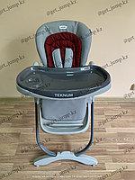 Стульчик для кормления TEKNUM168 бордовый, фото 1