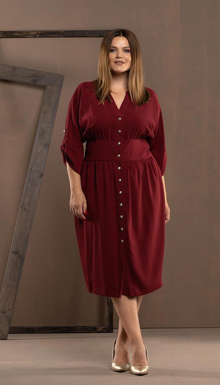 Платье Deesses-1029, вишня, 52