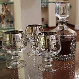 Набор бокалов для коньяка. Ручная работа, Италия, фото 2