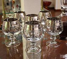 Набор бокалов для коньяка. Ручная работа, Италия