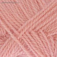 """Пряжа """"Ангорская тёплая"""" 40% шерсть, 60% акрил 480м/100гр (265 розовый)"""