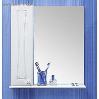 Шкаф-зеркало Карина 55, левый 14 см х 55 см х 70 см