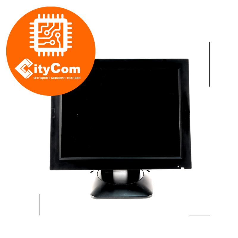 POS-монитор черный 12 дюймов TVS LP-12R35, VGA, 800x600, жесткое крепление к рабочему месту