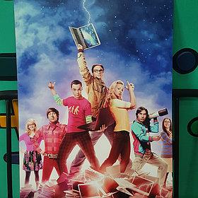 Постер Теория Большого Взрыва