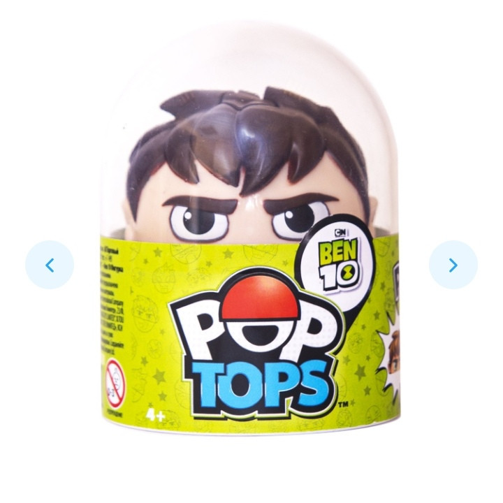 Ben 10 Фигурка поп-топ (Бен)